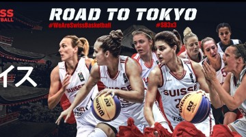 Swiss Women Basketball at the Olympics!